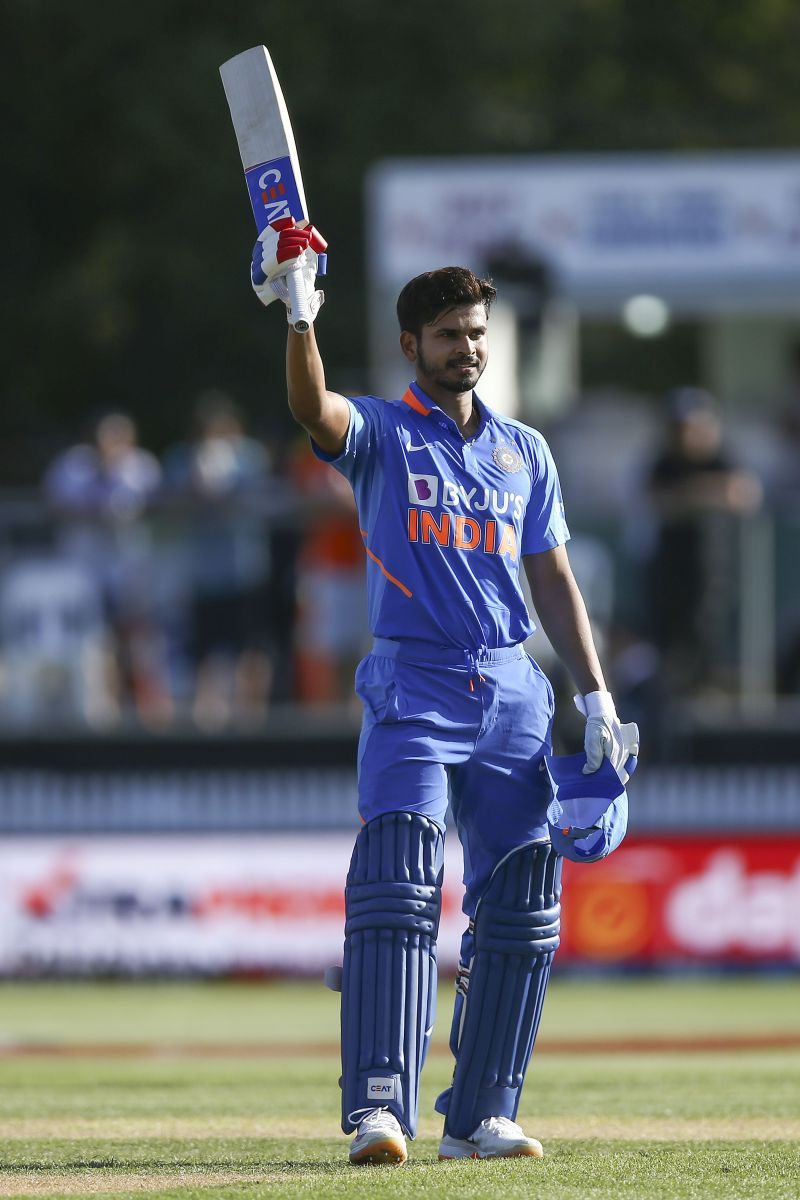New Zealand v India - ODI: Shreyas Iyer