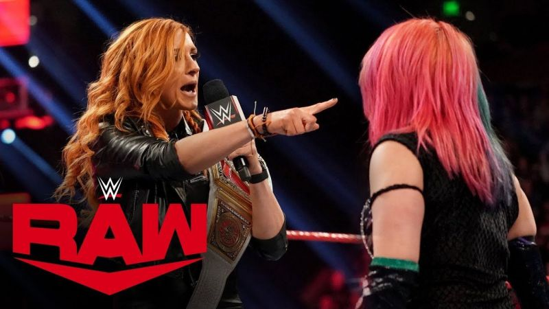 Asuka versus Becky Lynch. Who wins?