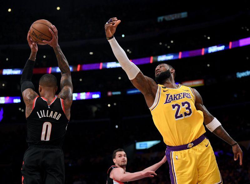 Both Damian Lillard and LeBron James have been accumulating heavy minutes this season