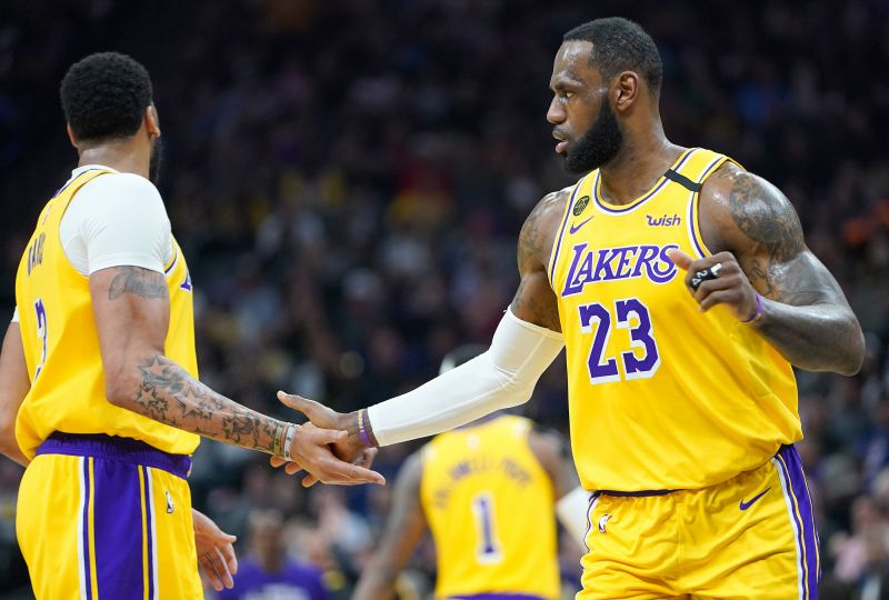 LeBron James and the Los Angeles Lakers host the Phoenix Suns