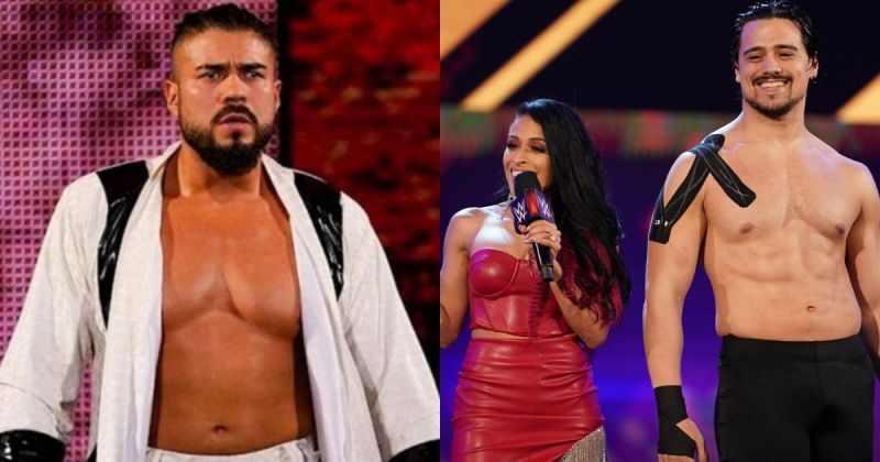 Andrade, Zelina Vega and Angel Garza.