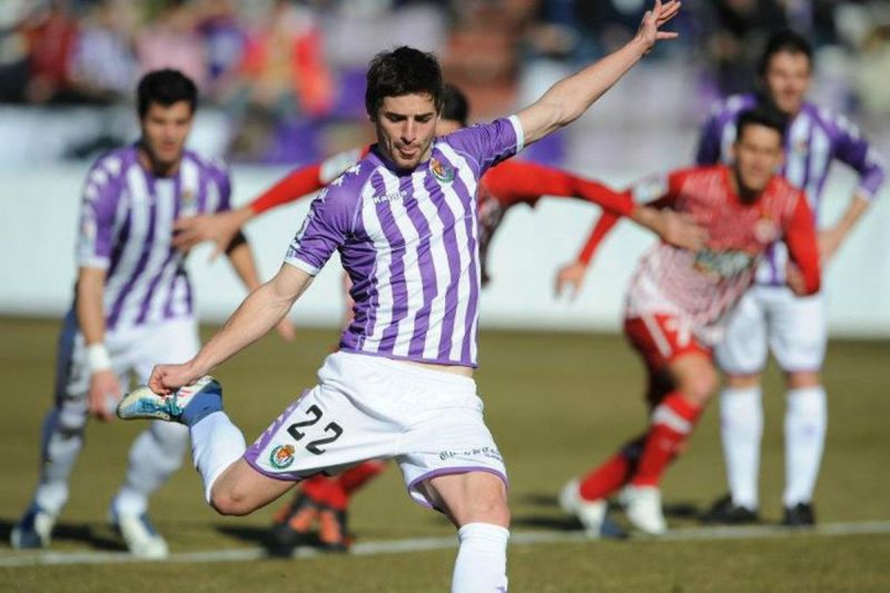 V ictor Perez Alonso made his La Liga debut in 2012 with Real Valladolid.