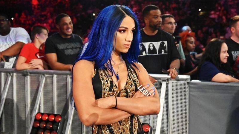 Sasha Banks is a SmackDown roster member