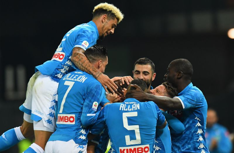 Serie A has a tight title battle in progress