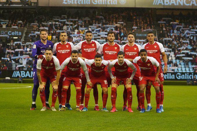 Sevilla have been a surprise package under Julen Lopetegui. (Image courtesy: Sevilla Twitter)
