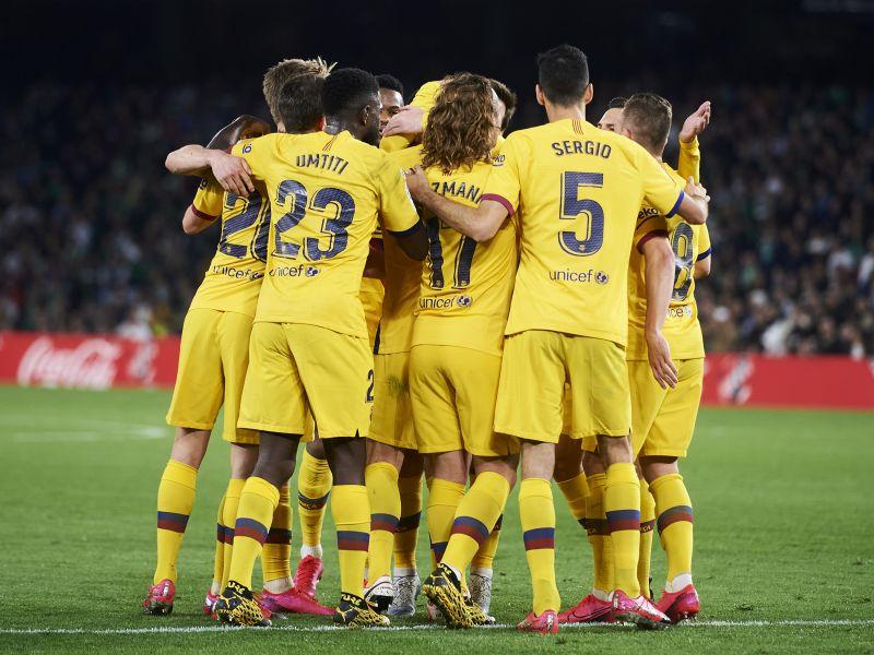 FC Barcelona in La Liga have lost 4 times