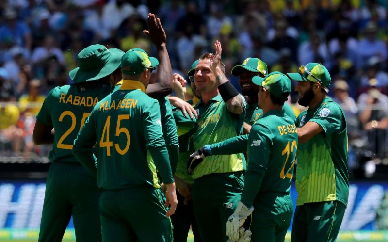 Dale Steyn made a return to the T20I squad against England.