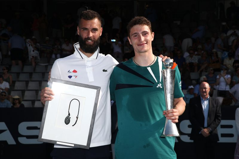 Ugo Humbert got off to a solid start in 2020 with a title run in Auckland.