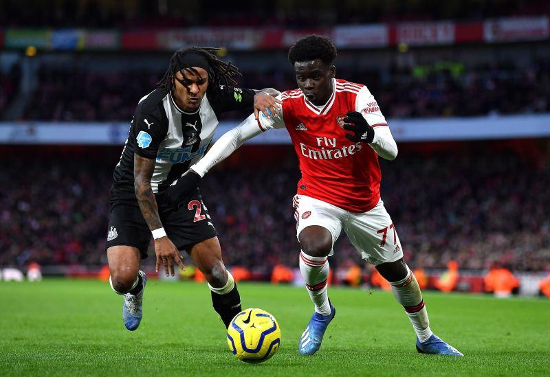 18-year old Bukayo Saka enjoyed a fantastic game today