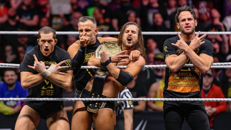 Cole is now the only man with a belt in Undisputed Era