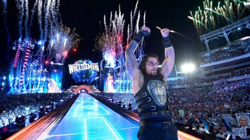 Roman Reigns has competed at seven WrestleManias in a row