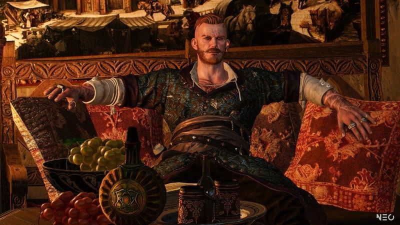 Much like with Philippa, Olgierd's intentions, too, are pretty hard to gage when he is first introduced in the Hearts of Stone expansion