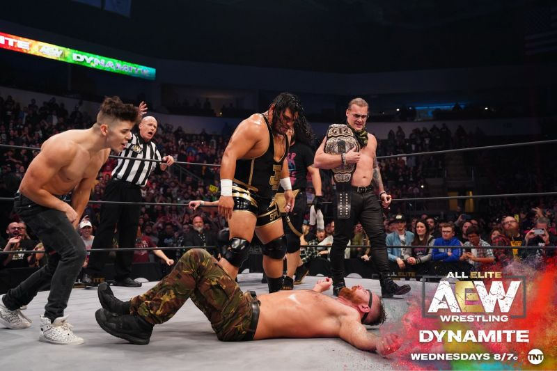Is Cobb signed to an AEW Contract? (Pic Source: AEW)