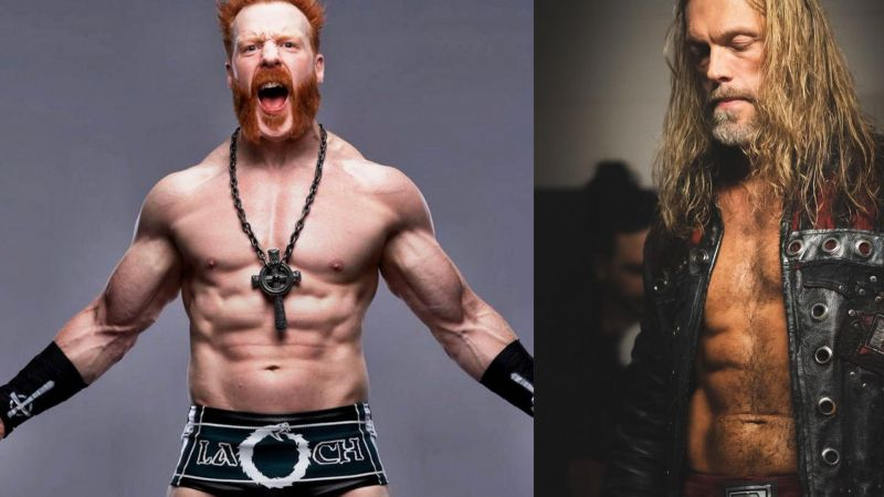 Sheamus opened up about Edge