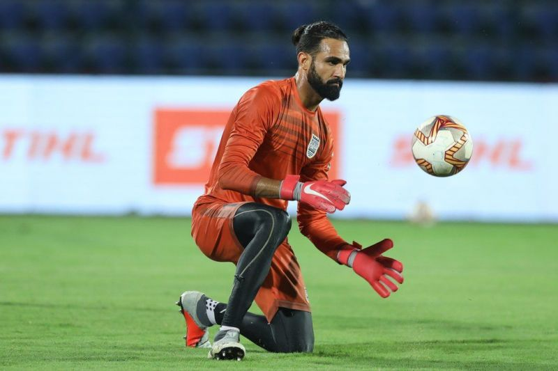 Amrinder is rearing to go against FC Goa on the 12th of February