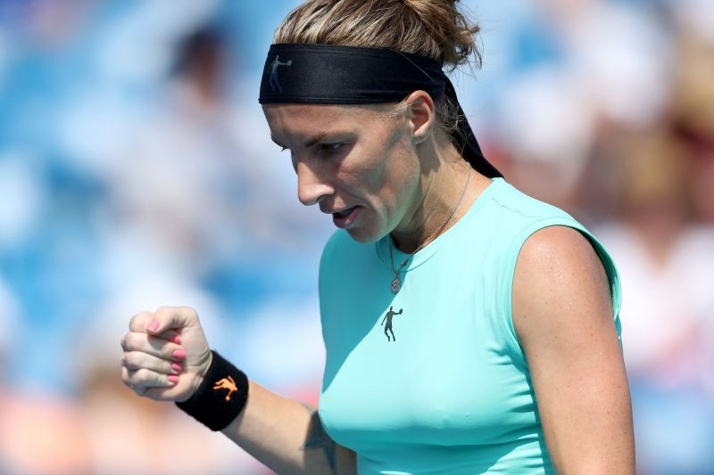 Kuznetsova has played with more freedom in the latter part of her career.