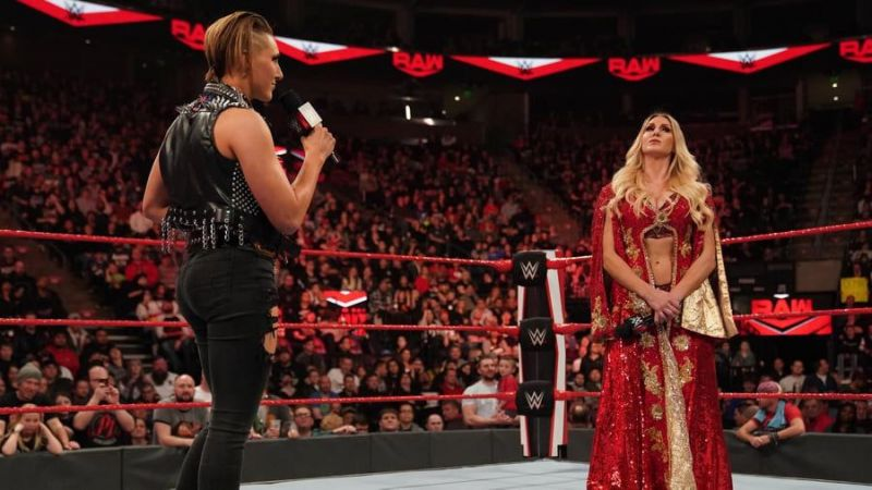 An interesting episode of RAW