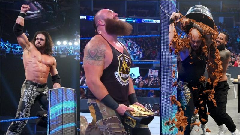 Several top SmackDown Superstars enjoyed great moments during this week