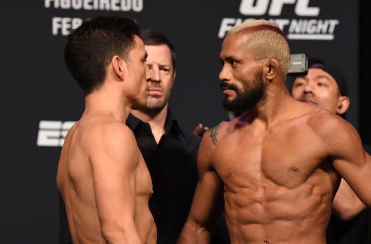 Joseph Benavidez vs. Deiveson Figueiredo at UFC Norfolk weigh-ins