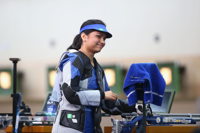 Indian Shooting Star: Apurvi Chandela