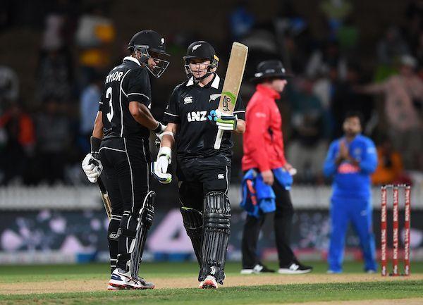 रॉस टेलर और टॉम लैथम ने जबरदस्त बल्लेबाजी की
