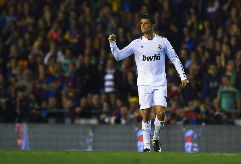 Ronaldo scored an incredible 48 goals in 44 games in 2011