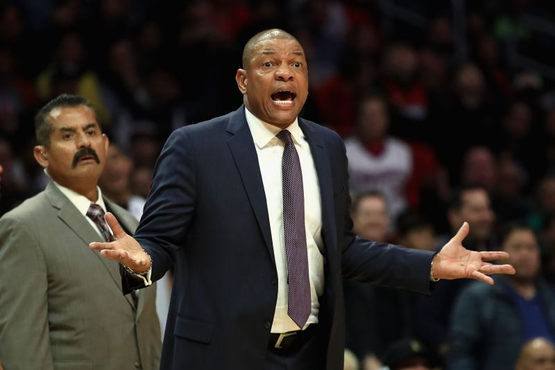 Doc Rivers will be hoping for a win against the Miami Heat