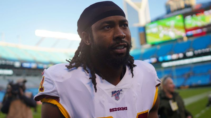 Cornerback Josh Norman, who is now a free agent.