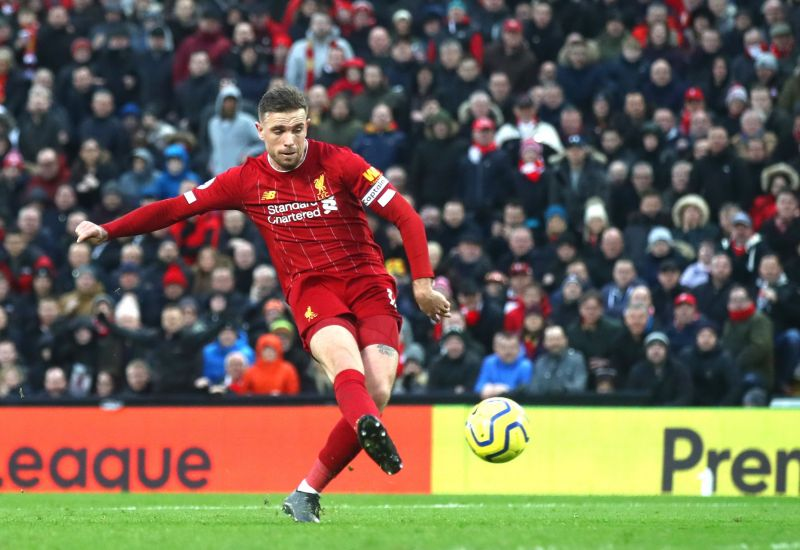 Jordan Henderson was outstanding today, scoring and creating a goal for Mohamed Salah