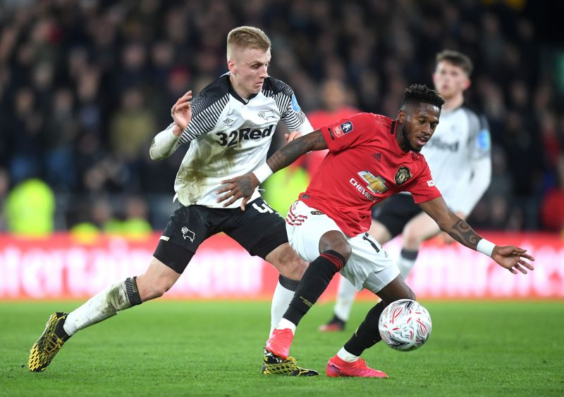 Derby County v Manchester United - FA Cup Fifth Round