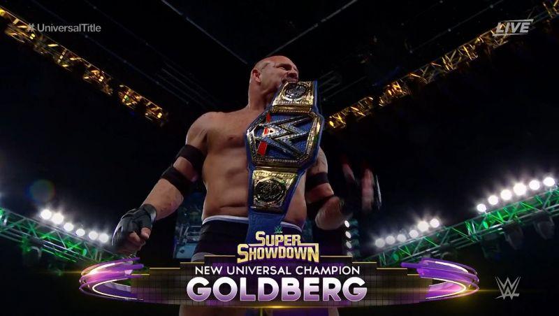 Goldberg must turn heel.