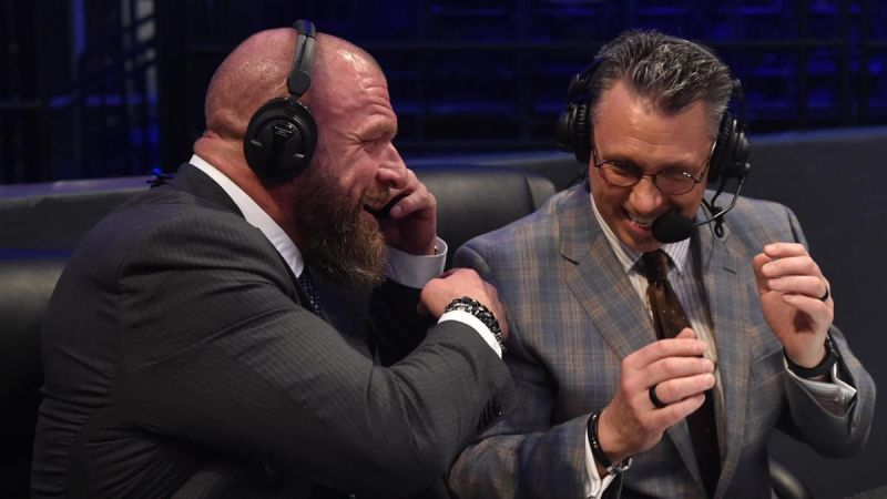 Triple H was a busy man