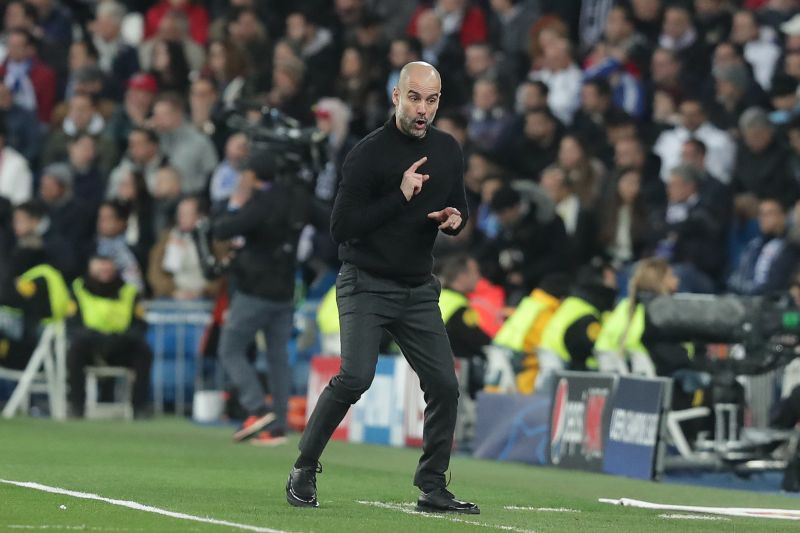 Pep Guardiola is still looking for his first UCL silverware since his triumph in 2011 Barcelona
