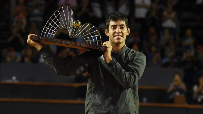 Cristian Garin lifted his second title of the 2020 Golden Swing at the Rio Open.