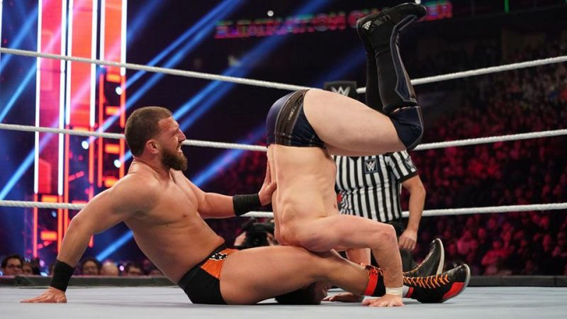 The match between Gulak and Bryan at EC was the first-ever meeting between the two performers.