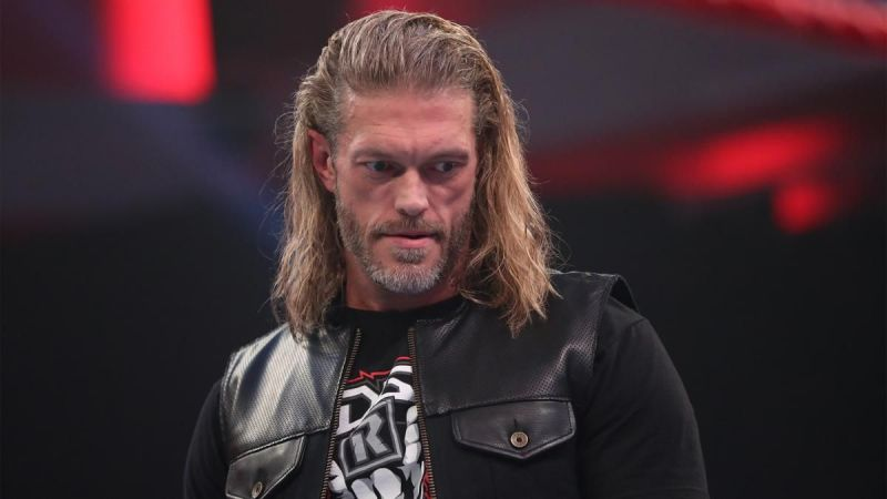 Edge on the March 16th episode of RAW