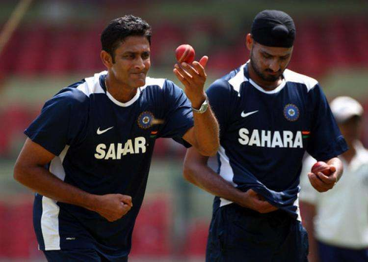 Kumble and Harbhajan - The Indian spin twins