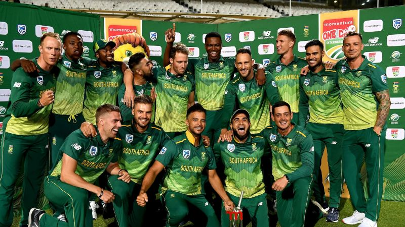 South Africa were set to play India in a three-match ODI series