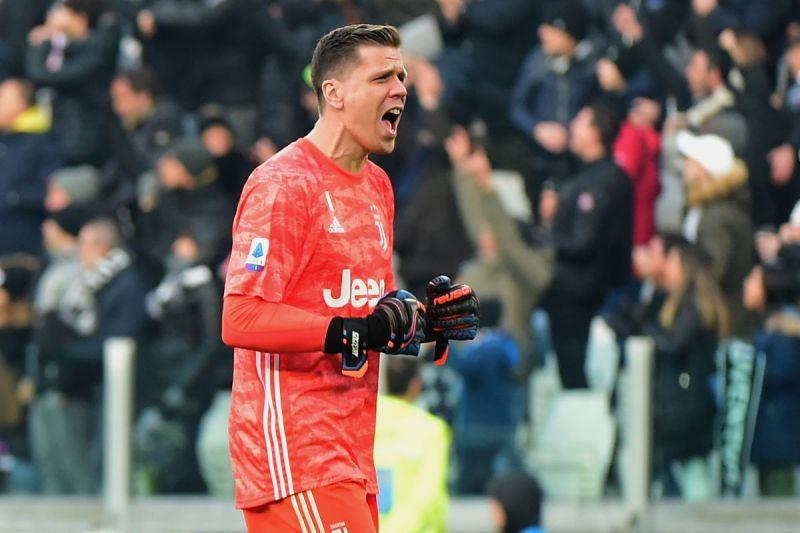 Szczesny has replaced Buffon as Juve