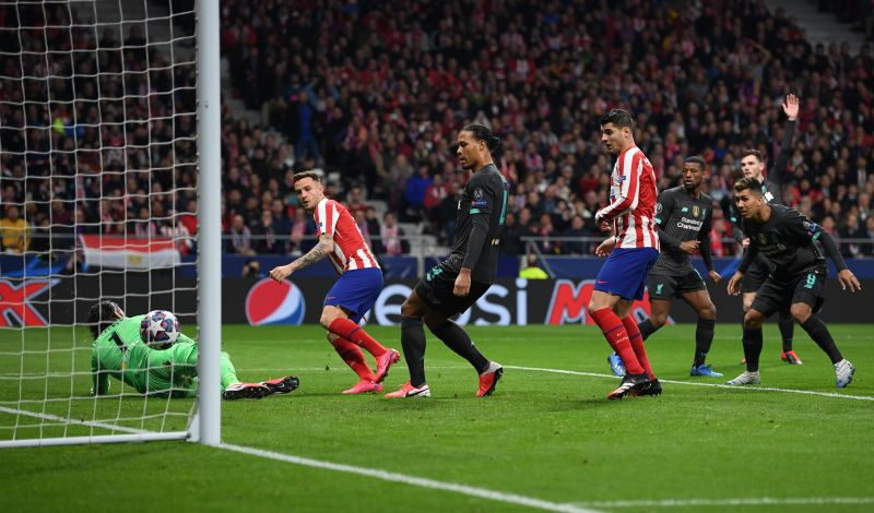 Atletico Madrid will face Liverpool in the Champions League on March 11