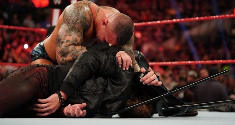 Could Randy Orton destroy Edge once again tonight?