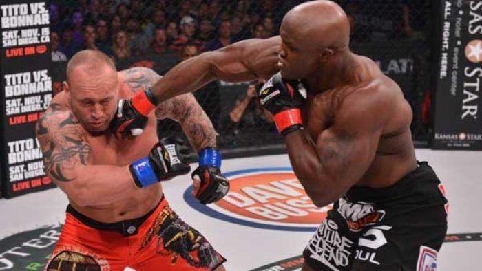 Bobby Lashley in Bellator MMA