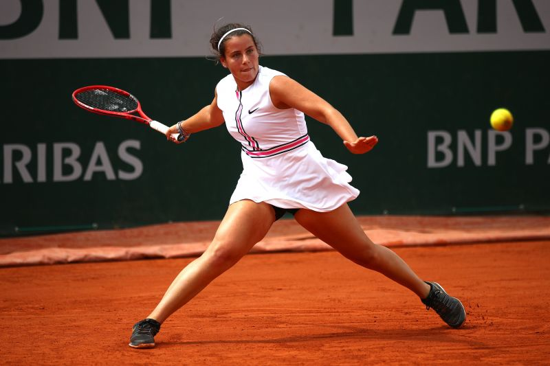 18-year-old Emma Navarro has done exceptionally at the junior level.