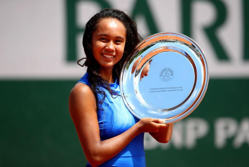 Leylah Fernandez has reached two junior Grand Slam finals.