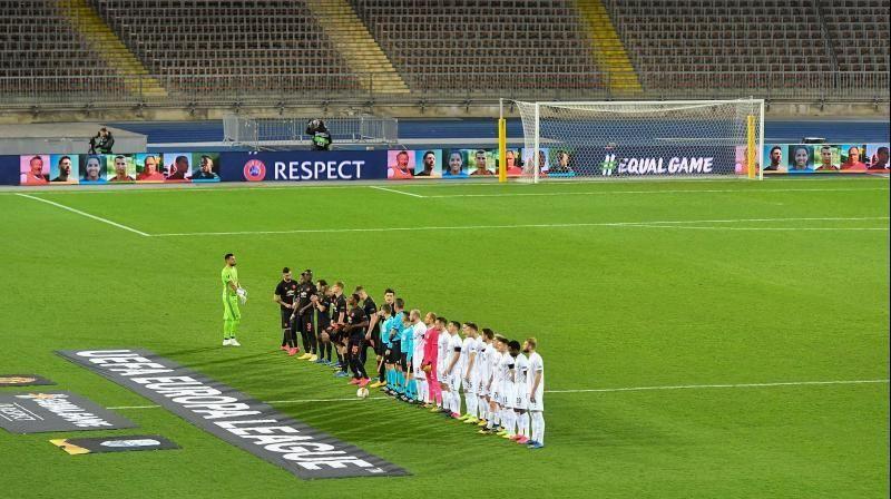 2019-20 Europa League match before kick-off