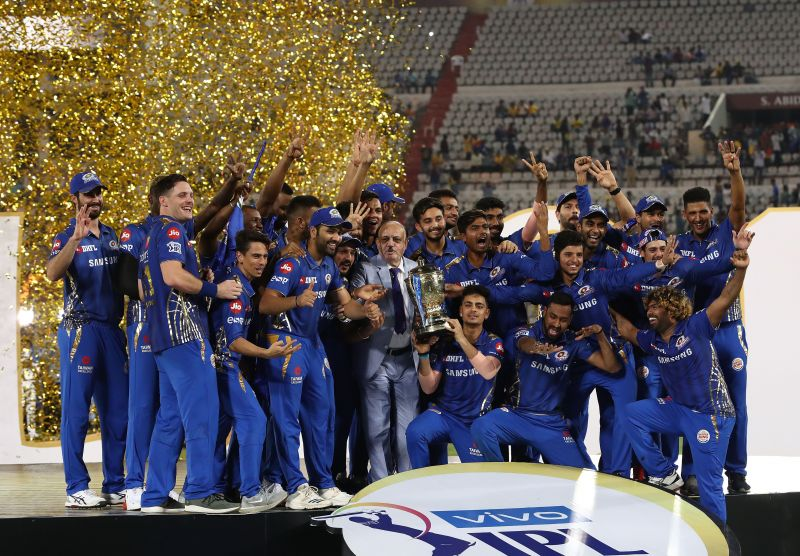 Mumbai Indians have won the IPL 4 times