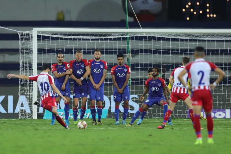 The Bengaluru FC wall was breached in the second leg of the semi-final