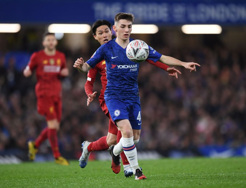 Gilmour put in a dominant performance against Liverpool in the Fa Cup.