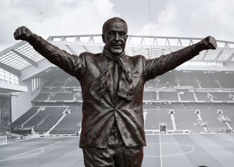 The great Bill Shankly- Will Anfield one day have a statue of Jurgen Klopp?
