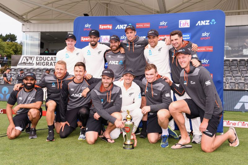 New Zealand completed a 2-0 series whitewash over India by beating them in Christchurch by 7 wickets.